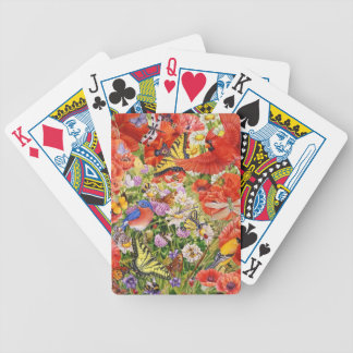 Birds, Butterflies and Bees Playing Cards