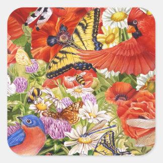 Birds, Butterflies and Bees Sticker