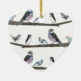 Birds. Christmas Ornament