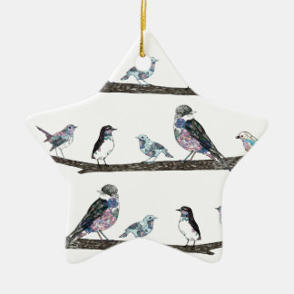 Birds. Christmas Ornament