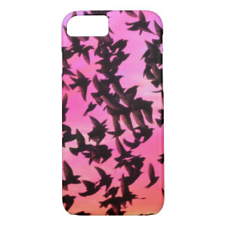 Birds colorful sky beautiful nature scenery iPhone 7 case