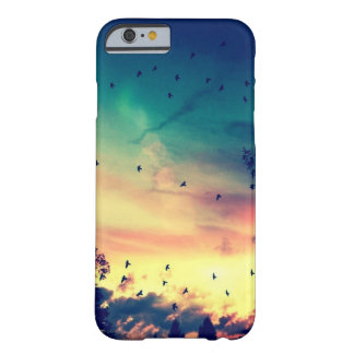 Birds colorful sky nature scenery barely there iPhone 6 case