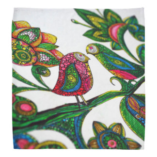 Birds Coloring Bandana