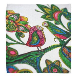 Birds Coloring Bandanna