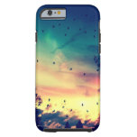 Birds colourful sky nature scenery tough iPhone 6 case