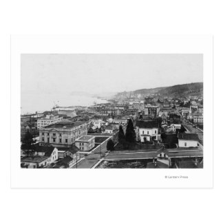 Bird's Eye View of Astoria, OR Photograph Postcard