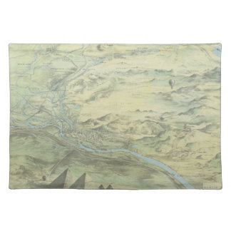 Bird's Eye View of Cairo Placemat