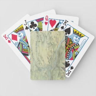 Bird's Eye View of Cairo Poker Deck