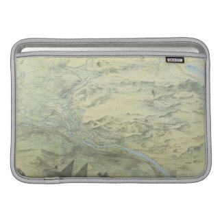 Bird's Eye View of Cairo Sleeve For MacBook Air