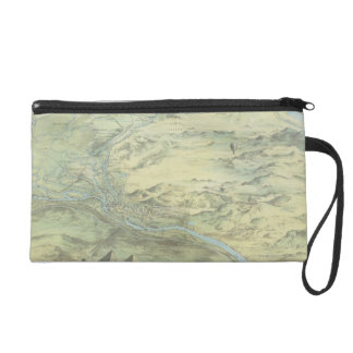Bird's Eye View of Cairo Wristlet