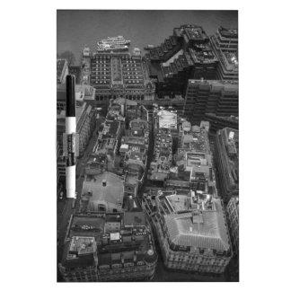 Bird's Eye view of London, UK Dry Erase Board