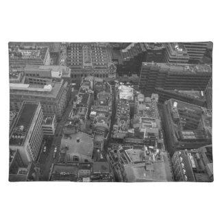 Bird's Eye view of London, UK Placemat