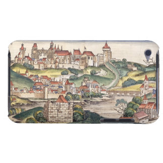 Bird's Eye View of Prague from the Nuremberg Chron Case-Mate iPod Touch Case