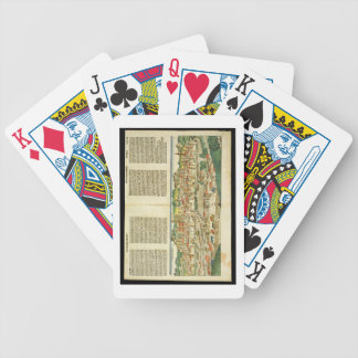 Bird's Eye View of Ratisbon, from the Nuremberg Ch Poker Deck