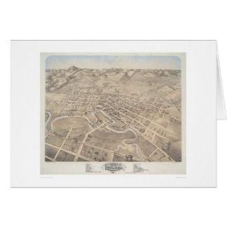 Bird's eye view of the City of Petaluma (1298) Card