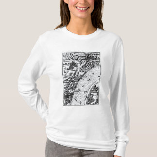 Bird's eye view of the River Thames T-Shirt