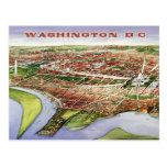 Bird's-eye view of Washington, D.C. (1901) Postcards
