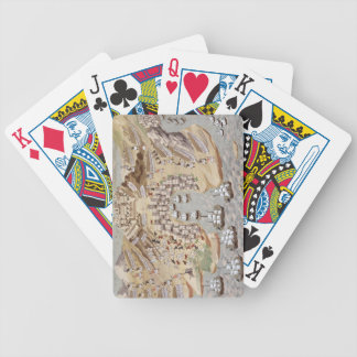 Bird's-Eye View of western Greece centred on Vonit Bicycle Playing Cards