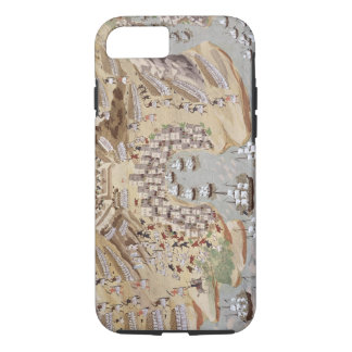 Bird's-Eye View of western Greece centred on Vonit iPhone 8/7 Case