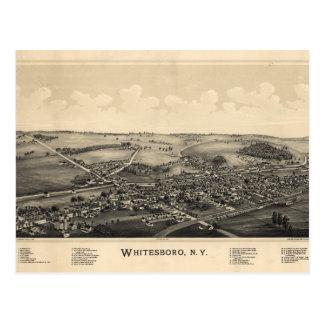 BIrd's Eye View of Whitesboro, New York (1891) Postcard