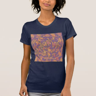 birds, fishes and turtles T-Shirt
