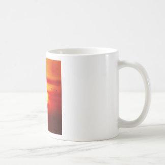 Birds Fly On Sky With Sunset Savanna Mug