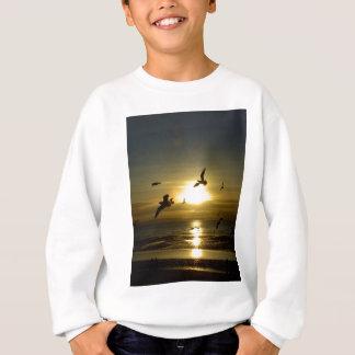 Birds Flying at Sunset Sweatshirt