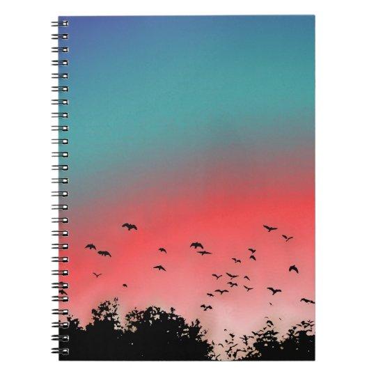 Birds flying High Notebooks
