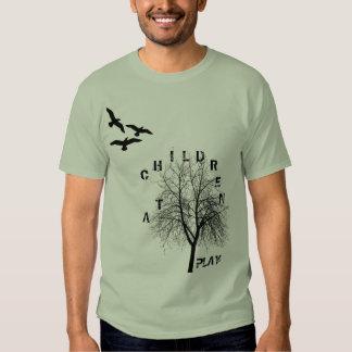 birds-flying-silhouette-clip-art, tree, C, H, I... Tshirt