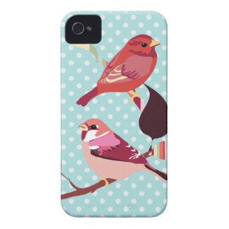 Birds illustration iPhone 4 Case-Mate case