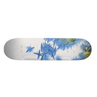 Birds in abundance custom skateboard