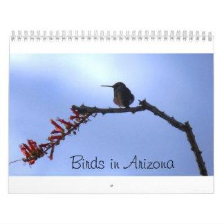 Birds in Arizona Wall Calendar