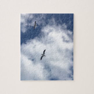 Birds in Clouds - Puzzle