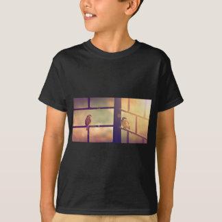 Birds in evening sun T-Shirt