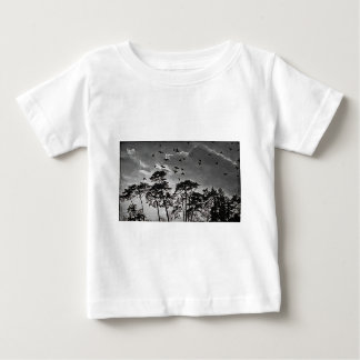 Birds In Flight. Baby T-Shirt
