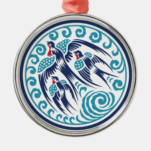 Birds in Flight Ornaments