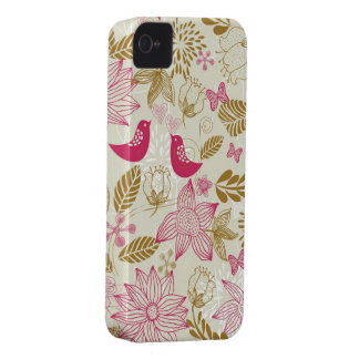 birds in love iphone 4/4s barely there case