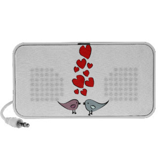 Birds in Love Theme Mini Speakers