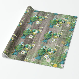 Birds in Nature Wrapping paper