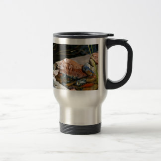 birds in stream coffee mugs