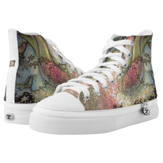 birds in the trees high tops