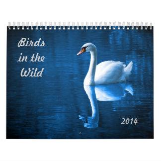 Birds in the Wild Calendar