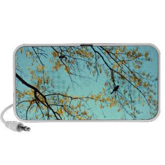 Birds in tree laptop speaker