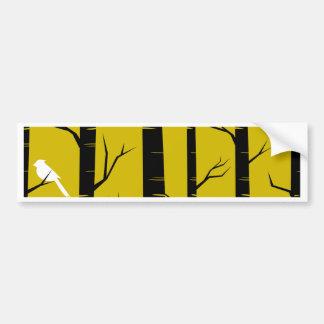 Birds in Trees Design Bumper Sticker