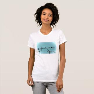 Birds istanbul photo tshirt