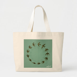 Birds Jumbo Tote Bag