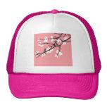 Birds_leaves_tree_design Mesh Hats