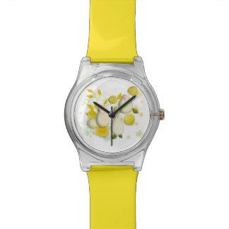 Birds & Lemons funny watch. Wristwatches