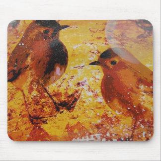 Birds Mixed Media Mousepads