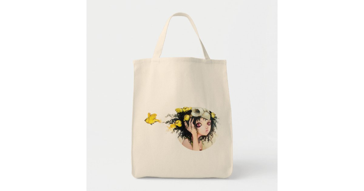 Asian Wedding Gift Bags Uk : Birds Nest Grocery Tote Canvas Bags Zazzle